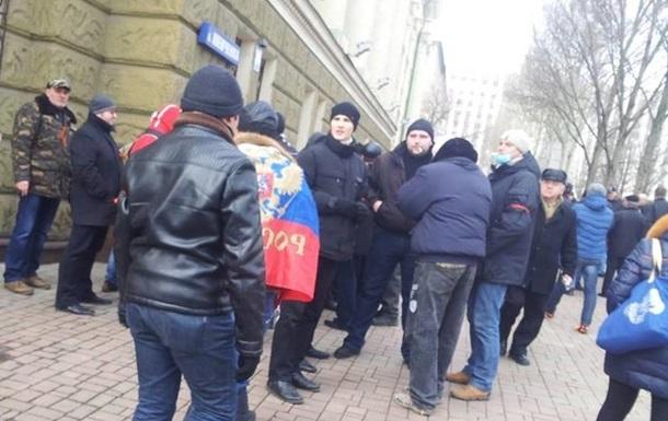 В Донецке хотят провести референдум о федерализации области