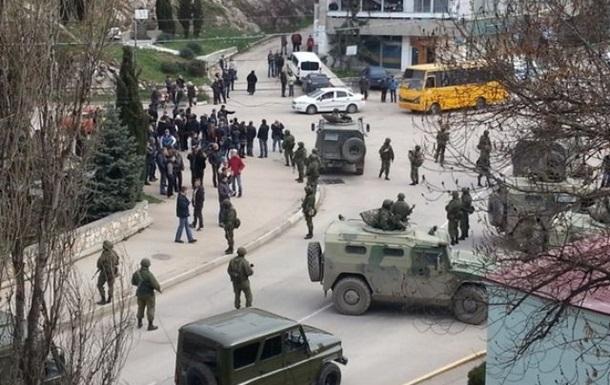 В Минобороны заявляют, что украинские военнослужащие в Крыму отказываются складывать оружие