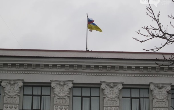 Луганский облсовет отказался признавать новую власть и хочет референдум
