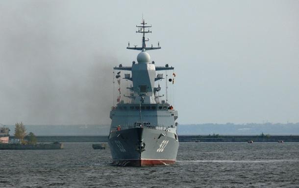 Балтийский флот РФ провел военные учения для проверки боевой готовности