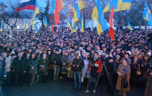 В Севастополе активисты разбили голову журналистке