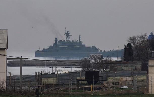 Российский флот второй день блокирует подходы к двум бухтам Севастополя – Госпогранслужба