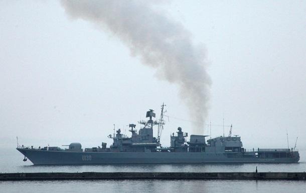 Фрегат Гетман Сагайдачный прибыл в одесский порт