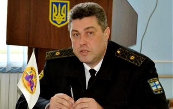 Генпрокуратура поручила задержать экс-командующего ВМС Украины Березовского