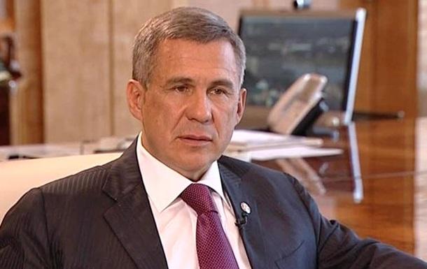 В Крым прилетел президент Татарстана
