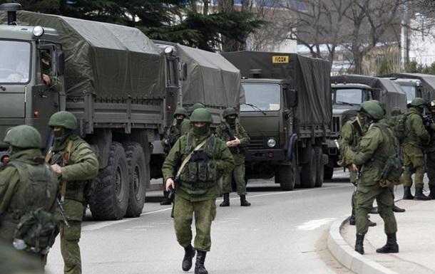 В Крыму находятся военные РФ из Чечни и Ульяновска – Генштаб Украины