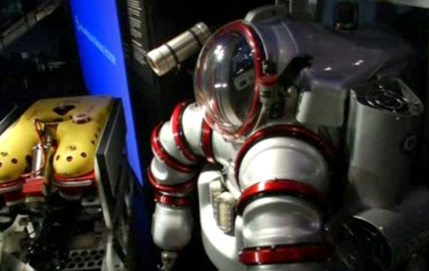 В Нью-Йорке представили экзокостюм для работы на больших глубинах