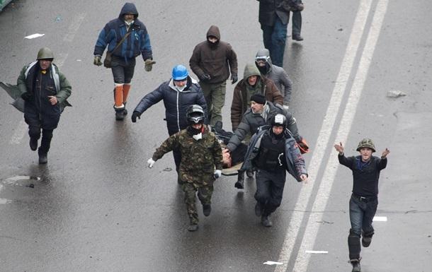 15 раненых в результате столкновений на Майдане остаются в тяжелом состоянии