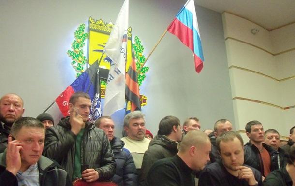 Милиция освободила здание Донецкой ОГА от сепаратистов и задержала 70 человек
