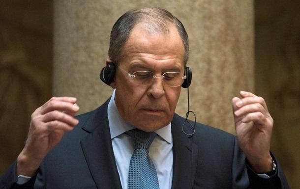 Лавров: Намерения США ввести санкции против РФ - это уже угроза