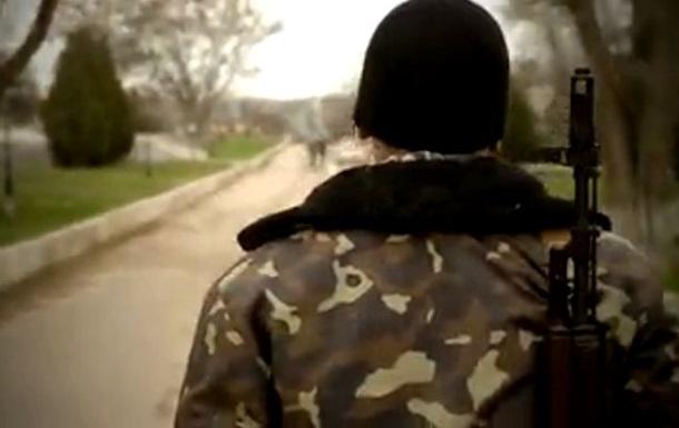 Видеосюжет об украинских военных в Бельбеке. Без комментариев
