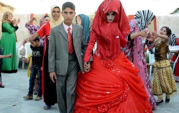 В Ираке хотят узаконить браки с детьми