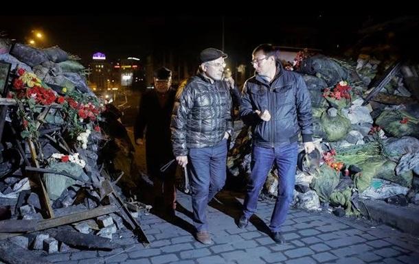 Ходорковский посетил ночью киевский Майдан