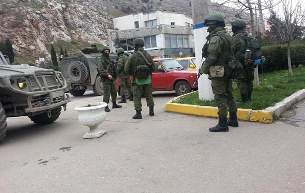 Российские военные в Крыму захватили погранзаставу