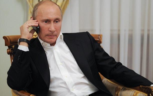 Путин обсудил с Меркель и Кэмероном ситуацию в Крыму