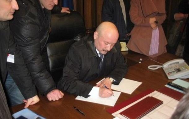 Луганский губернатор: Заявление об отставке я писал под давлением сепаратистов