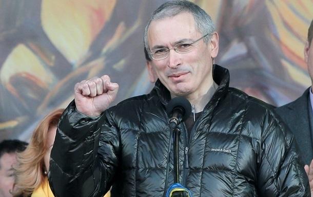 Ходорковский в Киеве встретился с оппозиционерами и посетил раненых беркутовцев