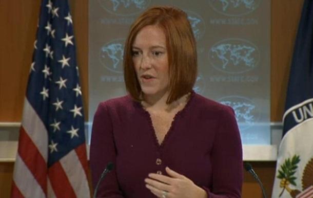 США готовы продолжать диалог по Украине в случае ответных шагов со стороны РФ