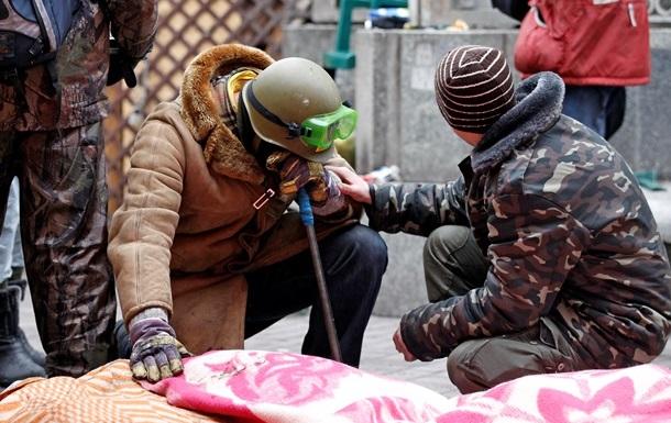 Число погибших во время акций протестов в Украине увеличилось до 102 человек - Минздрав