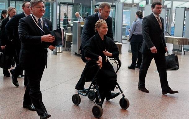 Реабилитация Тимошенко после операции продлится до двух недель
