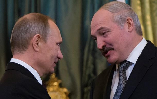 Путин и Лукашенко провели телефонные консультации по Украине