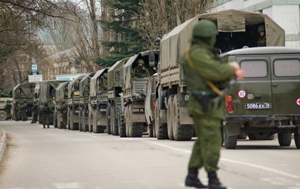 Россия вводит в Крым механизированные батальоны и спецназ из Чечни - Минобороны