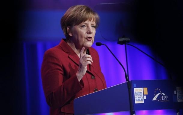 Военным путем кризис в Украине не разрешить - Меркель