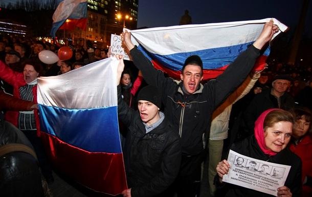 Россия заявляет о готовности  защищать своих граждан в Донецке