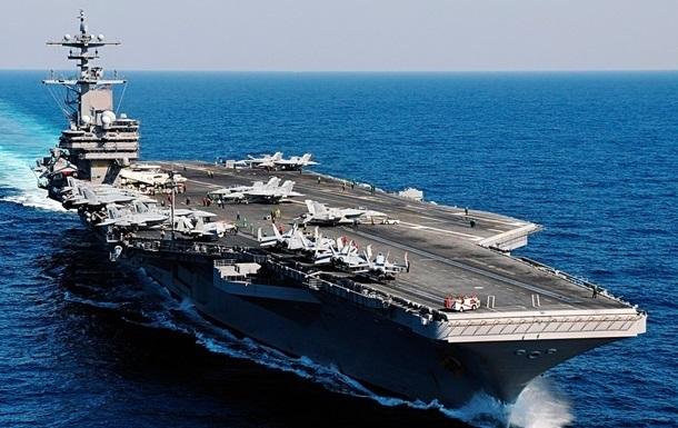 Пентагон продлил пребывание авианосца Джордж Буш в восточном Средиземноморье