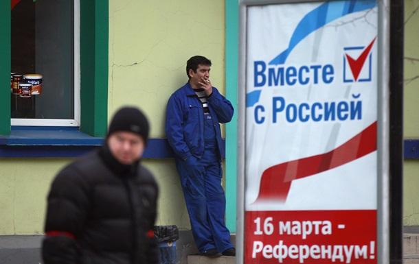 Что думают белорусы о крымском референдуме