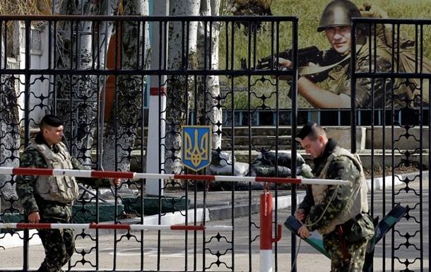 Против украинских военных в Крыму уже применяют огнестрельное оружие – ВМС