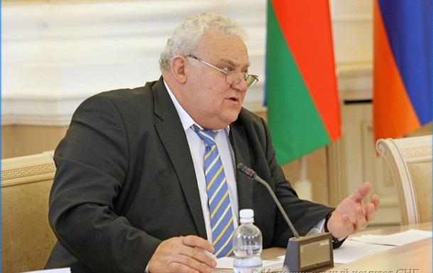 Украина передала ноту о прекращении председательства в СНГ