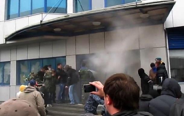 Как захватывали завод Nemiroff в Винницкой области. Видеоподборка
