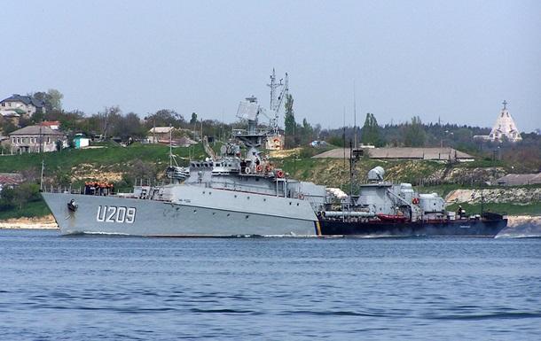 В Севастополе захватили корвет Тернополь
