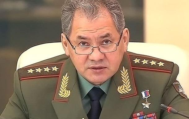 Шойгу: Россия не собирается посылать войска в Украину