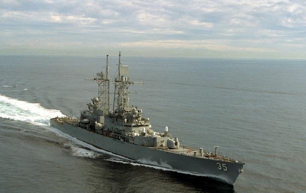 Американский ракетный эсминец покинул Черное море