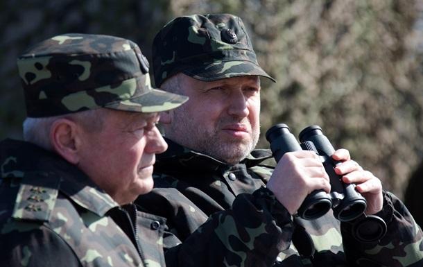 Турчинов обвинил российских военных в провокациях