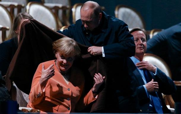 Меркель позвонила Путину, чтобы поговорить об Украине