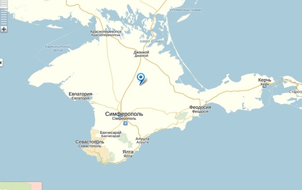 На картах Яндекса Крым в составе Украины остался для турецких и украинских пользователей