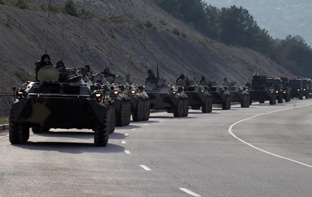 У границ Украины расположена стотысячная российская армия, готовая к вторжению - СНБО