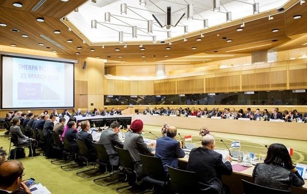 В Гааге впервые с 1996 года открылась встреча ведущих мировых держав без участия России
