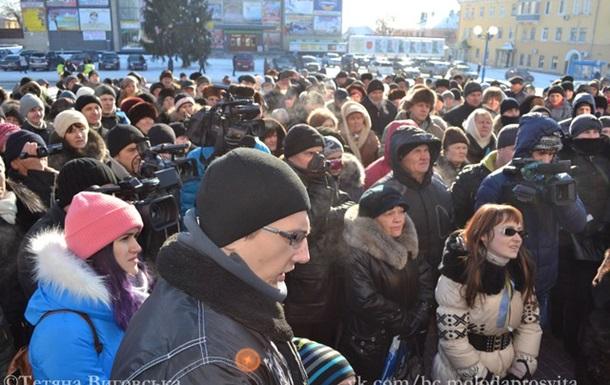 Білоцерківські депутати провалили сесію, а громада вимагала в мера вийти з ПР