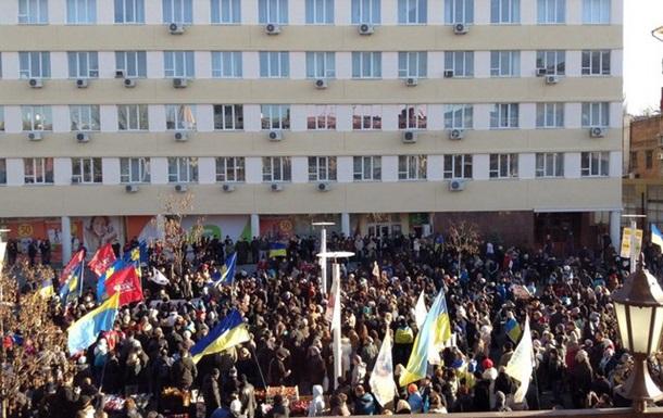 Про сьогоднішні події в Дніпропетровську