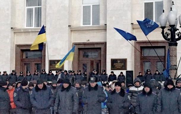 В Херсоне к штурму ОГА готовятся по – суворовски: со смекалкой и креативом