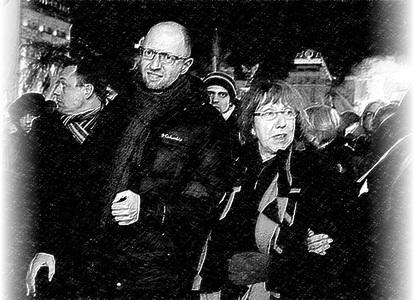 Яценюк представляє Європі Кличка, як тупого радикала
