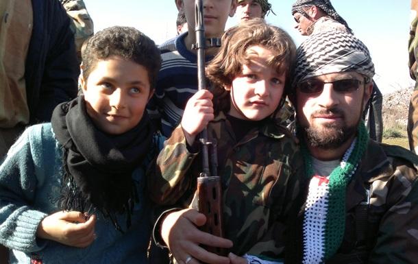 В Сирии появился лагерь для детей-смертников