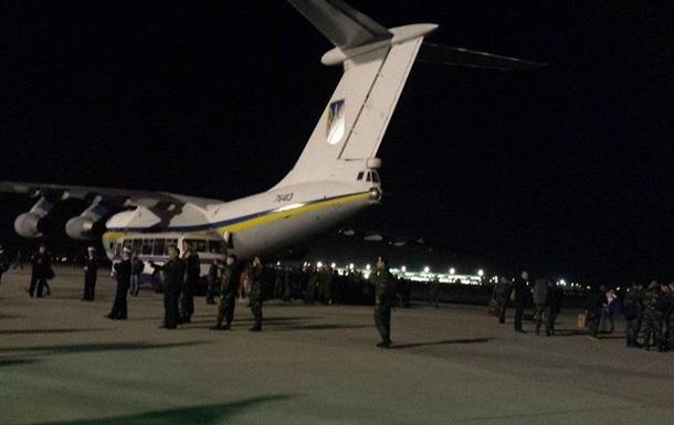 В Киев прибыли морские пехотинцы из Феодосии