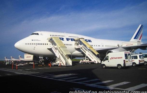 Россия закрыла часть воздушного пространства для рейса Air France