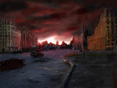 Город теней (сказка для взрослых).