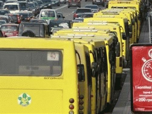Во Львове транспортный коллапс.